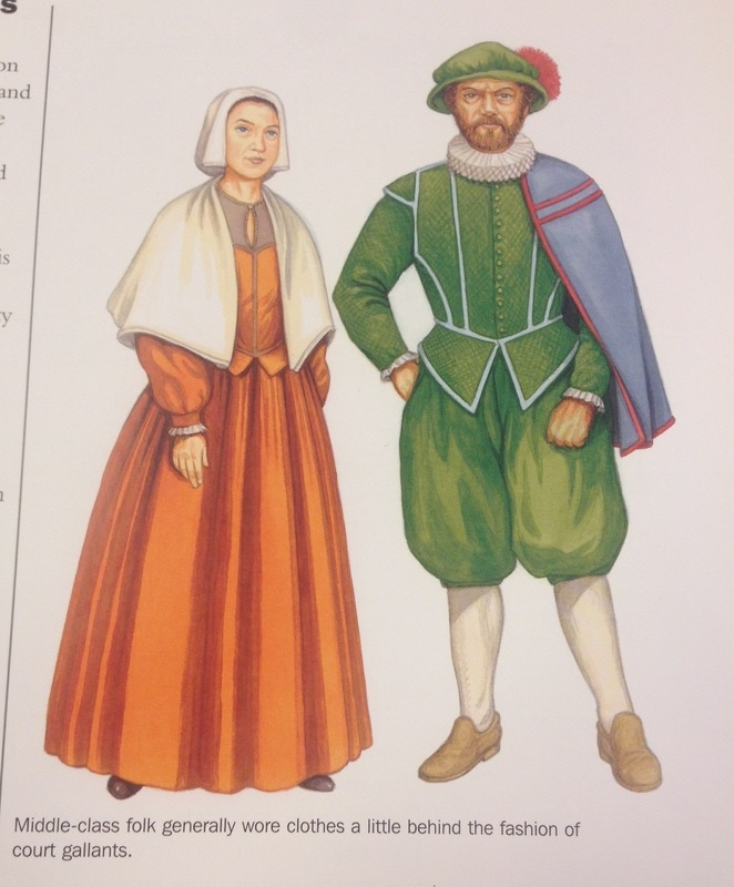Elizabethan era clothing and fashion 4
